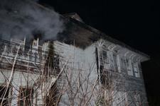 Beykoz'da birçok film ve dizilerin çekildiği köşk yandı