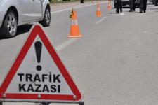 Yalova'da portakal kamyonu devrildi: 1 ölü