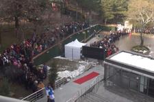 Uludağ'da 2 bin kişi, 'teleferik' kuyruğuna girdi