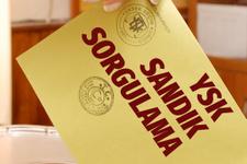 YSK seçmen kütüğü sorgulama 4-17 Ocak arasında yarın listeler asılıyor
