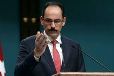 Cumhurbaşkanlığı Sözcüsü İbrahim Kalın'dan ABD'ye sert tepki!
