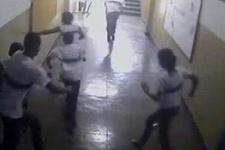 Okuldaki silahlı saldırının dehşet anları!