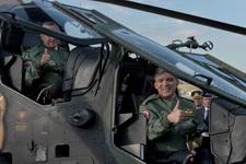 Milli helikopterimiz ATAK teslim töreni