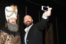 Muhteşem Süleyman'dan muhteşem selfie...