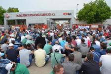 Otomotiv işçileri üretimi durdurdu