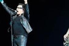 U2 konserinde bakan yuhalandı