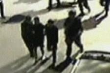 Seri katilin yakalanışı kamerada