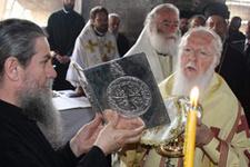Bartholomeos Kapadokya'da ayin yönetti