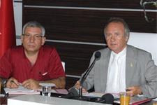 Antalya'da işçiye Ramazan müjdesi