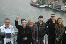 U2'nun en büyük hayali gerçek oldu