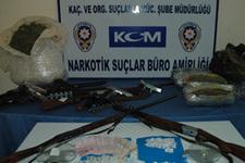 Narkotikten uyuşturucu çetelerine darbe