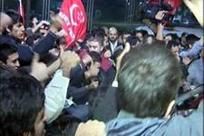 Havalimanında Erbakan izdihamı