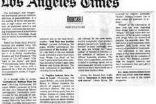Los Angeles Timesta şarbon paniği