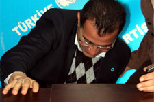 TP Sivas İl Başkanı'nın talihsiz kazası!