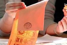 Bağımsız adayların sıralaması belli oldu