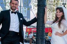 Pelin Karahan gizlice evlendi