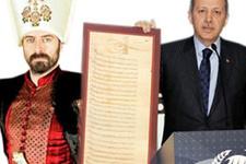Erdoğan'ın okuduğu 'Muhteşem' mektup