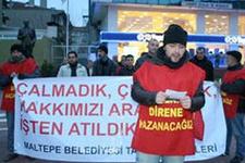 CHP'li belediyede taşeron işçi krizi