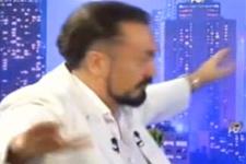 Adnan Oktar canlı yayında göbek attı!