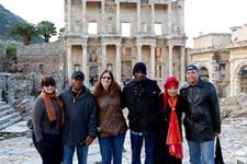 Blues sanatçıları Efes'i ziyaret etti