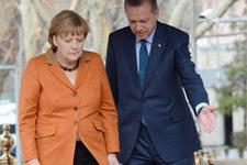Erdoğan Merkel görüşmesi başladı