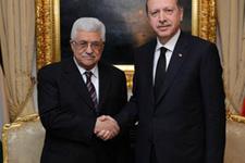 Mahmud Abbas'tan Erdoğan'a ziyaret