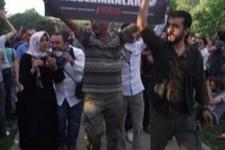 Devrimci Müslümanlar da Taksim'de