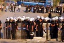 Ankara'da cemevi temel atma töreni öncesinde çatışma