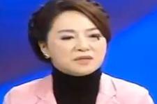 Çinli kadın spikerin zor anları