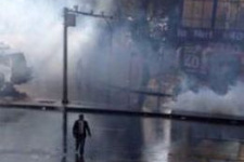 Ankara'da Eğitim-Sen'in protestosuna müdahale