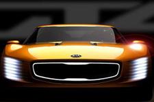 Kia'nın yeni konsept aracı GT4 Stinger!
