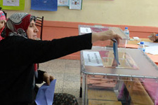 Seçim sonuçları 2014 - Türkiye geneli partilerin oy oranı