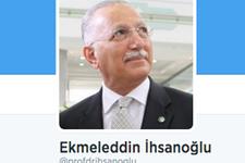 İhsanoğlu, Twitter'da sadece 1 hesabı takibe aldı