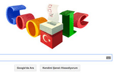 Google'dan tartışılan cumhurbaşkanlığı seçimi logosu