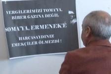 Komisyonda CHP'li vekilden Ermenek protestosu