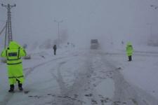 Yol durumu D 100 ve Afyon yolu kapandı