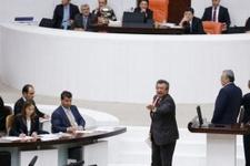 Meclis'te gergin anlar 'Çıldırtma beni başkan'