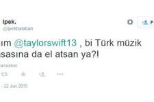 Taylor Swift'e sosyal medyadan çağrı var