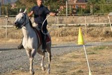 Erzincan'da atlı ve motorize kurban timi