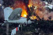 Yunanistanda uçak düştü