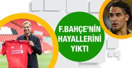 Klopp'tan Fenerbahçe'ye kötü haber