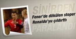 Simon Kjaer Ronaldo'yu çıldırttı