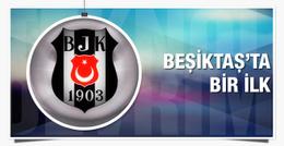 Beşiktaş'tan Türkiye'de bir ilk