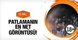 Ankara patlamasının en net görüntüleri ortaya çıktı!