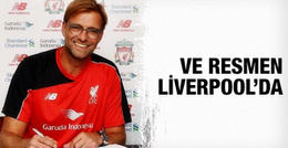 Jurgen Klopp resmen Liverpool'da!