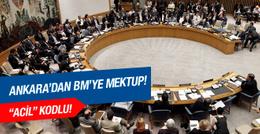 Türkiye'den BM'ye Rusya mektubu!