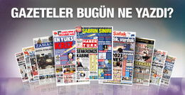 Gazete manşetleri 25 kasım 2015