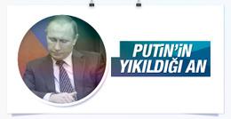Putin'in uçağın düşürülme haberini aldığı o an