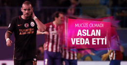 Atletico Madrid Galatasaray maçının sonucu ve özeti