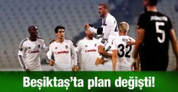 Beşiktaş'ta planlar alt üst oldu!